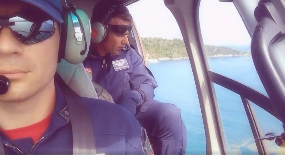 Banhista desaparecido é encontrado na praia após nadar até a Ilha do Campeche