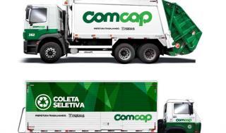 Entrega de lixos pesados da Comcap
