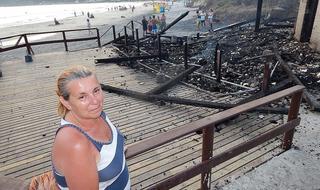 """Restaurante """"Pedacinho do Céu"""" foi destruído por incêndio e família pede ajuda para reconstruí-lo"""
