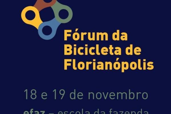Fórum da Bicicleta de Florianópolis acontece nos dias 18 e 19, no Campeche