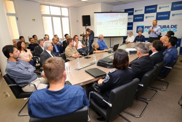 Prefeitura lança Operação Verão 2018