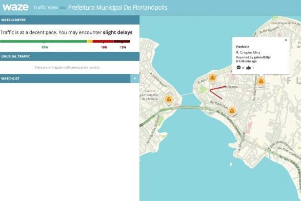 Prefeitura assina convênio com Waze para auxiliar na gestão do trânsito