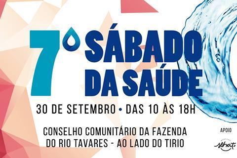 7º Sábado da Saúde acontece neste sábado na Fazenda do Rio Tavares