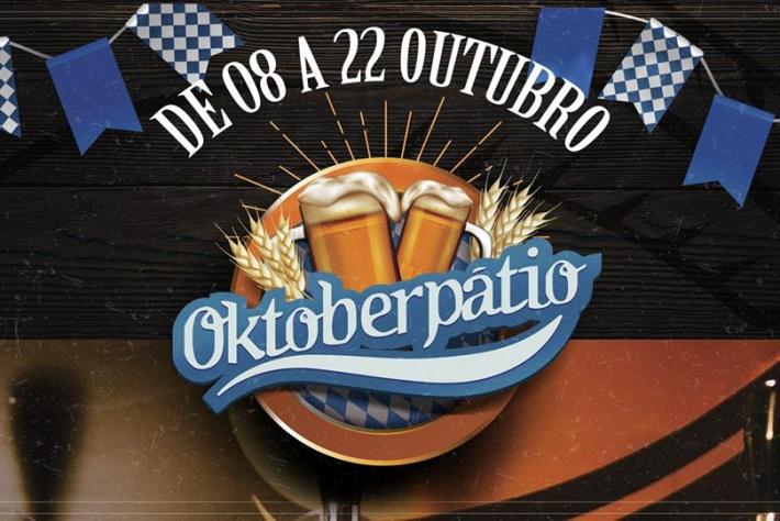 Oktoberpátio acontece entre os dias 8 e 22 de Outubro, no Pátio Biergarten