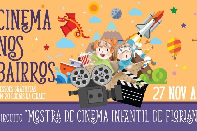 Projeto Cinema nos Bairros vai levar filmes à comunidades