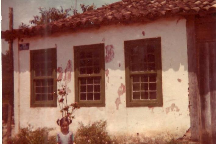 Casa do Zacarias e Laura com a neta Viviane.