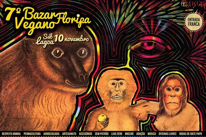 7ª edição do Bazar Vegano Floripa acontece em novembro