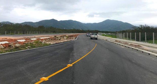 Governo do Estado trabalha para liberar primeiro trecho do novo acesso ao aeroporto e Sul da Ilha