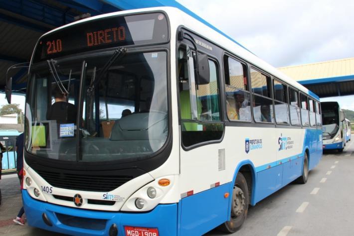 Passagem de ônibus tem reajuste de 7,39% a partir do dia 1º de janeiro