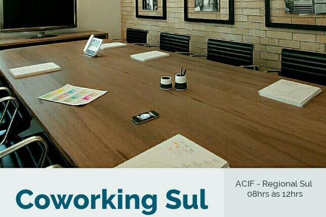 ACIF Sul agora disponibiliza espaço colaborativo de trabalho para os associados