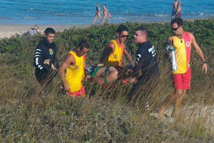 Corrente de retorno causa dois afogamentos no Pico da Cruz