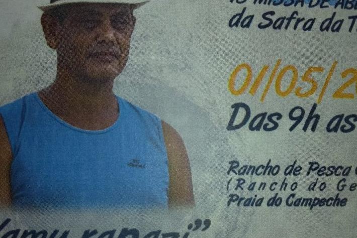 Pescadores e comunidade se encontrarão no Rancho do Getúlio, na Praia do Campeche